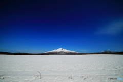 雪原と青空と・・