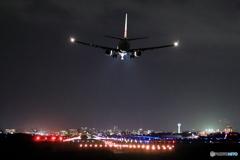 函館空港30侵入