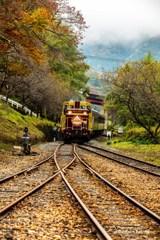 秋の渡良瀬鉄道