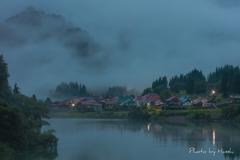 霧の大志集落