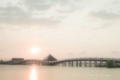 鶴の舞橋(日の出)