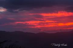 夜明けの高ボッチ高原