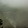 霧深し只見線