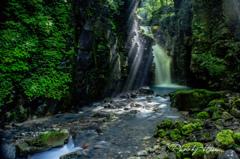 思い出の雄飛の滝