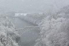 奥只見雪景色2