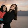 絶景と母娘