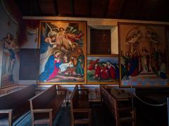 ペルー大農園領主の館 礼拝堂 壁絵