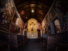 ペルー大農園領主の館 礼拝堂