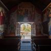 ペルー大農園領主の館 礼拝堂入口