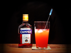 Campari and Grapefrouit