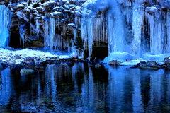 綺麗な氷柱