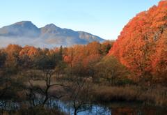 旅先の秋・磐梯山