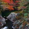 渓谷の秋3