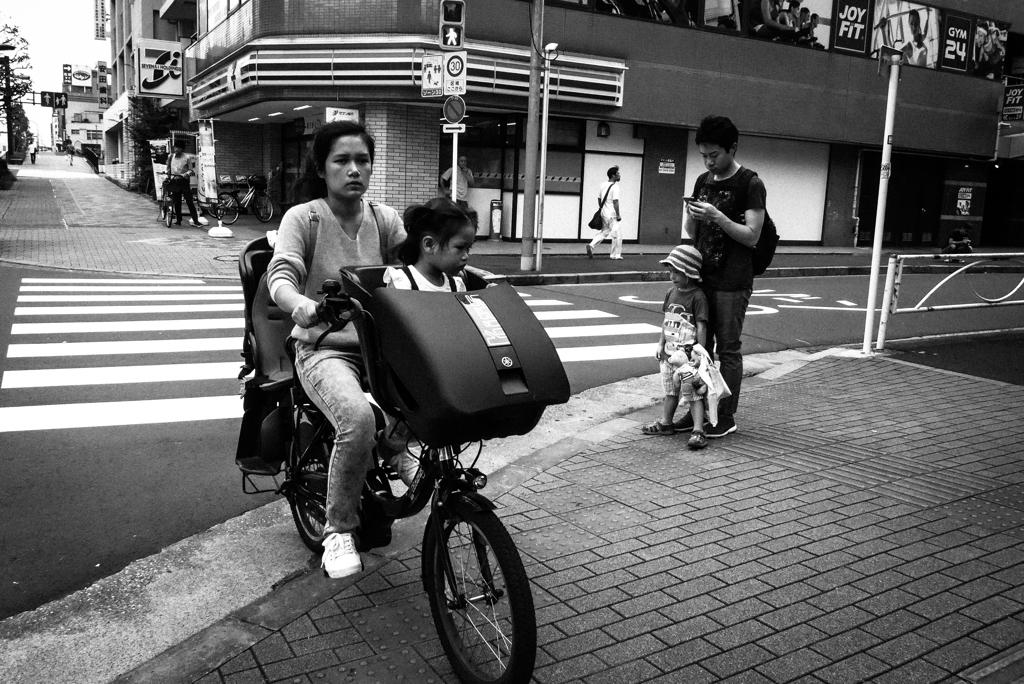 サイクリングヤッホー それぞれの家族