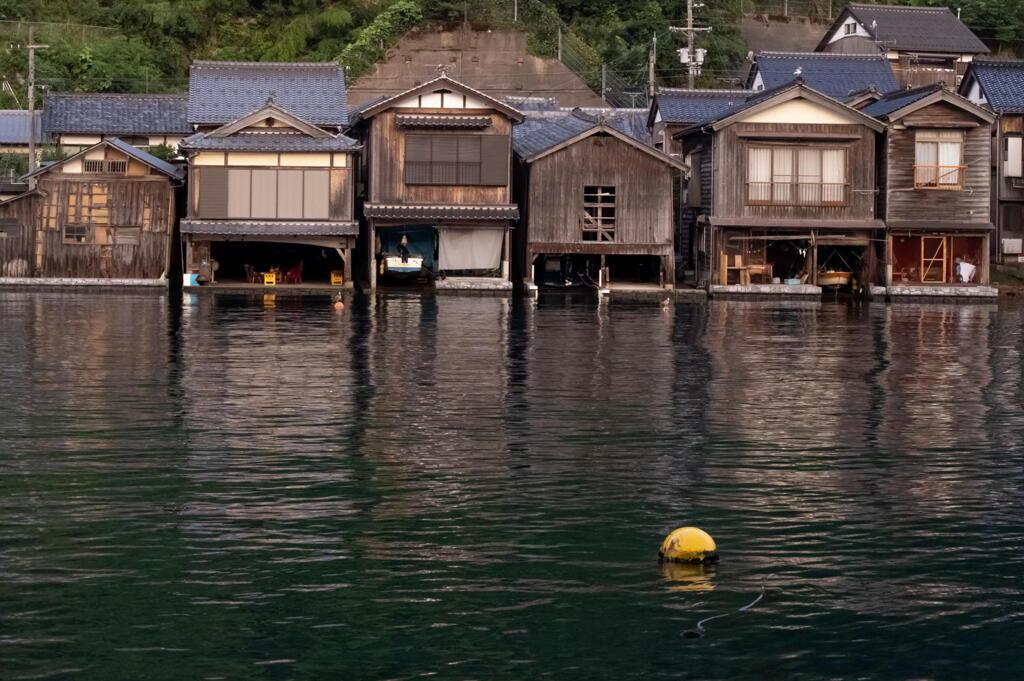 丹後半島伊根の舟屋 その2