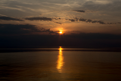 日本海夕陽
