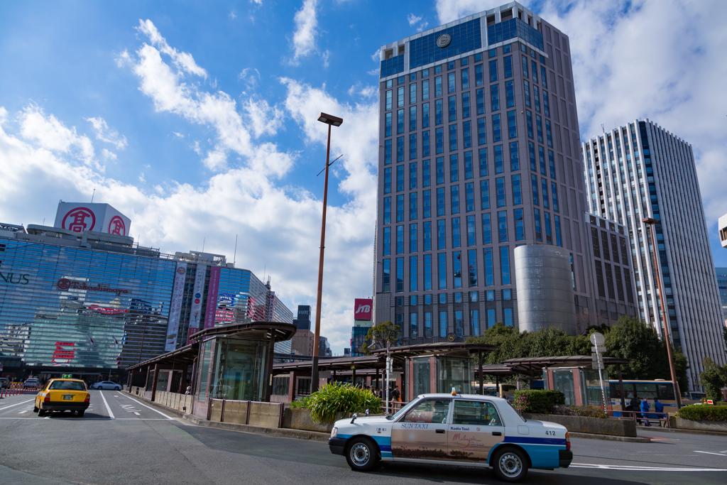 横浜駅工事中2