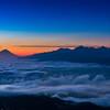 高ボッチview2019.10.30 雲海に覆われて
