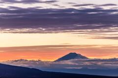 富士を呑込む雲海