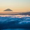 雲海の輝き