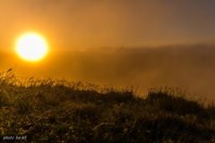 日の出~秋の気配