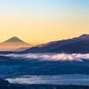 高ボッチview2020.08.15 光る雲海