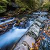 秋の横川渓谷蛇石2