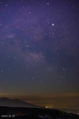 霧ヶ峰高原からの天の川2