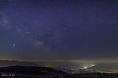 霧ヶ峰高原からの天の川1