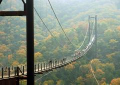 星のブランコという名の吊橋