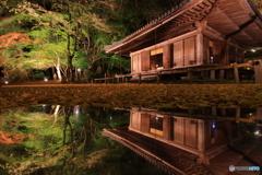 夜の富貴寺
