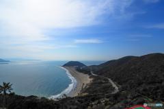 伊良湖岬の穏やかな春