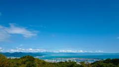 青い空・海・山 ♪三保の松原を望む絶景