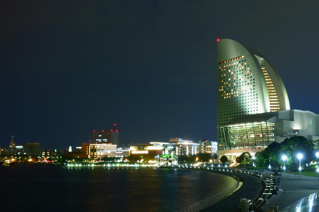 定番的横浜夜景