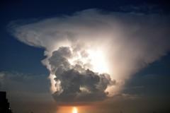 Cumulonimbus incus(かなとこ雲)