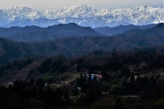 日本一美しい村の冬景色