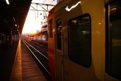 Xmasは列車に乗って☆。.:*・゜
