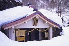厳冬の戸隠神社