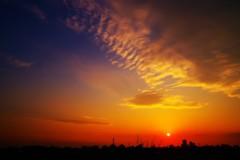 Dramatic Sunset☆。.:*・゜