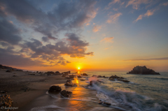 ロングビーチの日の出