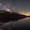 テナヤ湖に写る天の川