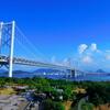 真夏の瀬戸大橋