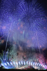神明の花火ラスト