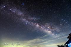 窓辺の銀河