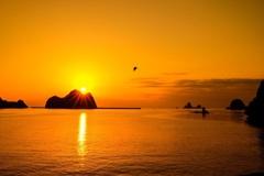 夕陽を求めて西へ向かう!
