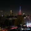 東京タワーのある夜景10 pray for paris