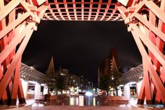 金沢駅の鼓門3
