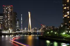 佃大橋から中央大橋2