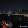 ビル隠れの東京タワー