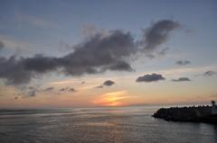 神津島へ向かう船上より その1